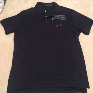 Polo Ralph Lauren Navy Polo Shirt sz L